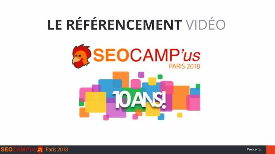 Optimiser référencement youtube